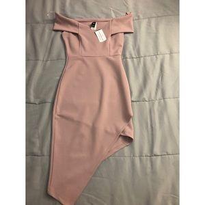 Rose pink Windsor dress